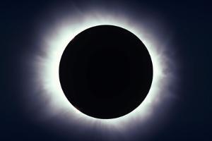 Total Solar Eclipse Taken Near Carberry, Manitoba, Canada