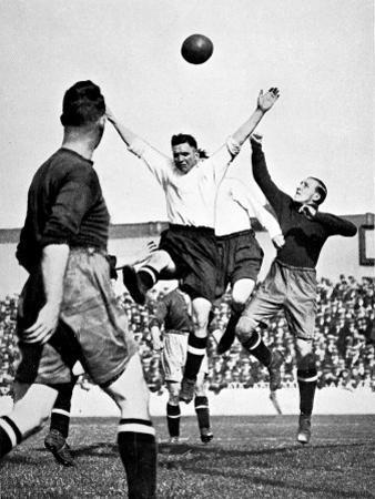 Tottenham Hotspur Vs. Bury, White Hart Lane, 1929