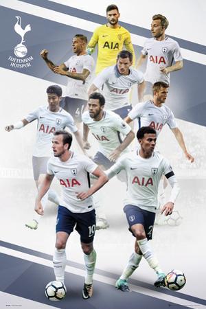 Tottenham - Players 17/18