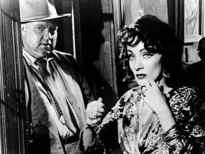 Touch Of Evil, Orson Welles, Marlene Dietrich, 1958