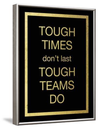 Tough Team-Victoria Brown-Framed Art Print
