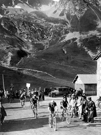 Tour De France 1929, 15th Leg Grenoble/Evian (Alps) on July 20: Antonin Magne Ahead