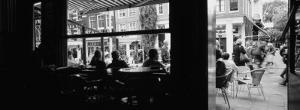 Tourists in a Cafe, Amsterdam, Netherlands