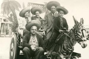 Tourists in Tijuana