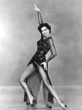 Tous en Scene THE BAND WAGON by VincenteMinnelli with Cyd Charisse, 1953 (b/w photo)