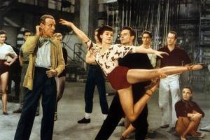Tous En Scene the Band Wagon De Vincente Minnelli Avec Cyd Charisse, Fred Astaire, 1953