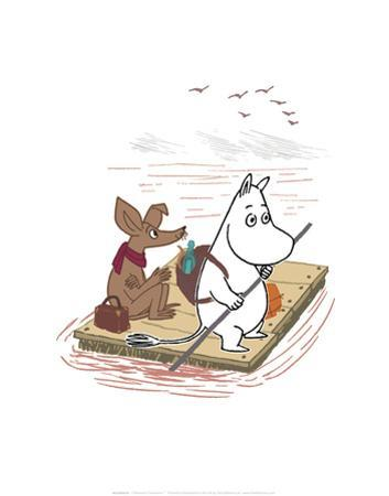 Moomintroll and Sniff on a Treasure Hunt by Tove Jansson