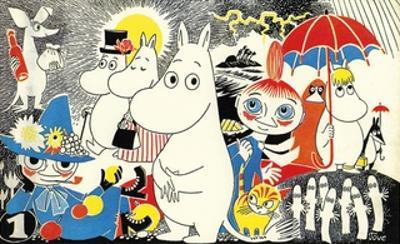 The Moomins Comic Cover 1 by Tove Jansson