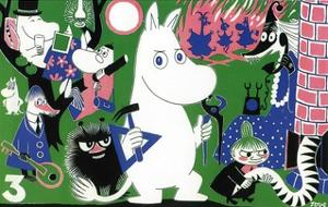 The Moomins Comic Cover 3 by Tove Jansson