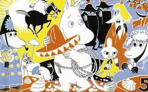The Moomins Comic Cover 5 by Tove Jansson