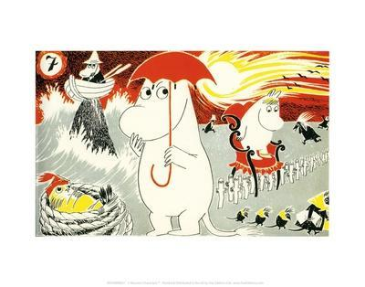The Moomins Comic Cover 7
