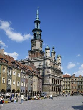 Old Town Market Place in Poznan on the River Warta, the Polish Capital Until Mid 11th C, Poland by Tovy Adina