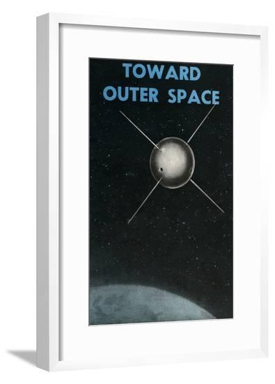 Toward Outer Space--Framed Giclee Print