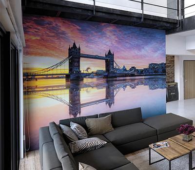Tower Bridge Wall Mural