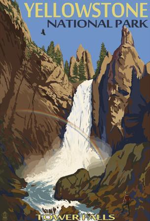 Tower Falls - Yellowstone National Park