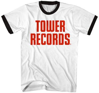 Tower Records- Vintage Stacked Logo (Ringer)