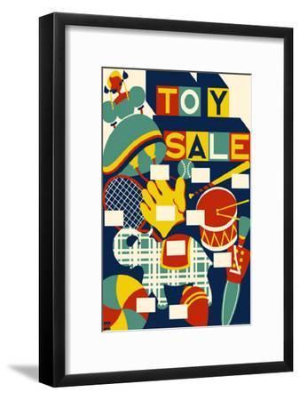 Toy Sale--Framed Masterprint