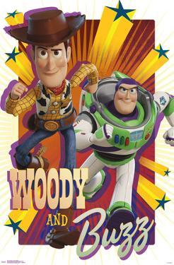 Toy Story 4 - Woody & Buzz