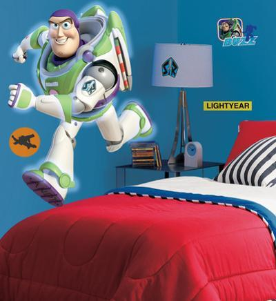 Toy Story - Buzz Peel & Stick Giant Wall Decals