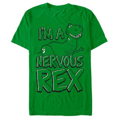 Toy Story- Nervous Rex