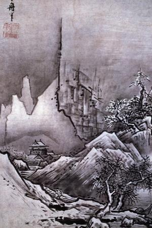 Winter Landscape by Toyo Sesshu