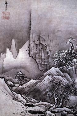 Winter Landscape by Toyo Sesshu