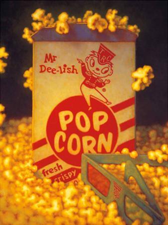 3D Popcorn by TR Colletta