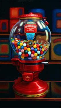 Gumball Machine IV by TR Colletta