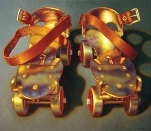 Roller Skates II by TR Colletta