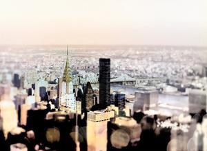 Pastel Skyline by Tracey Telik