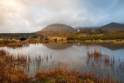 Dramatic Afternoon Light at Sligachan Bridge, Isle of Skye Scotland UK by Tracey Whitefoot