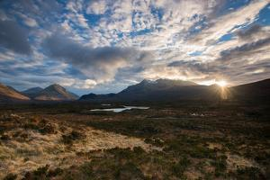 The Black Cuillin at Sligachan, Isle of Skye Scotland UK by Tracey Whitefoot