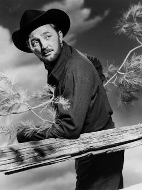 Track of the Cat by William A. Wellman with Robert Mitchum, 1954 (b/w photo)