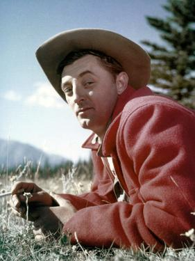 Track of the Cat by William A. Wellman with Robert Mitchum, 1954 (photo)