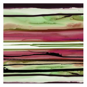 Colorful Ink Wash 1A by Tracy Hiner