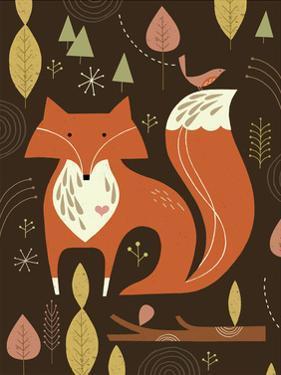 Fox in the Woods by Tracy Walker