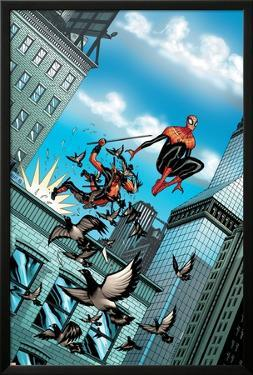Deadpool #10 Cover: Deadpool, Spider-Man by Tradd Moore