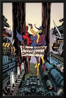 Deadpool: Annual #1 Cover: Deadpool, Madcap by Tradd Moore