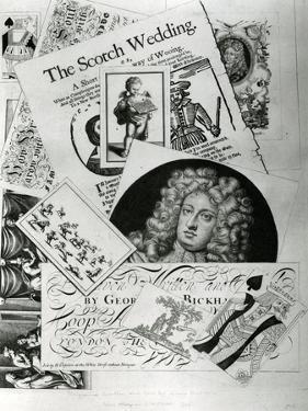 Trade Card, Engraved by George Bickman