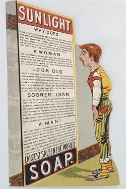 Trade Card for Sunlight Soap, C1900