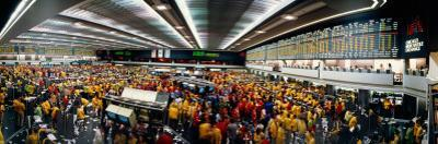 Traders in a Stock Market, Chicago Mercantile Exchange, Chicago, Illinois, USA