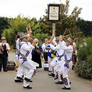 Traditional English Morris Dancers, Thornham, Norfolk