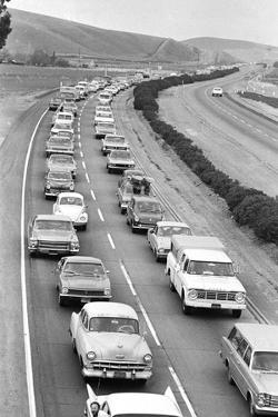 Traffic Jam due to Rolling Stones Concer