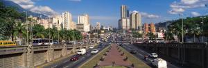 Traffic on Roads, Caracas, Venezuela