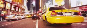 Traffic on the Road, Times Square, Manhattan, New York City, New York, USA
