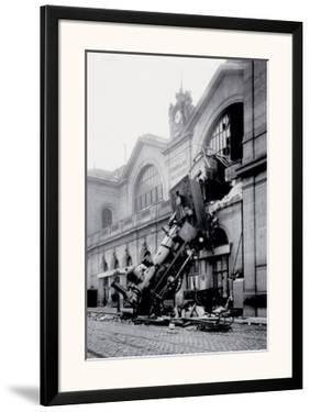Train Accident at the Gare Montparnasse, Paris, 1895