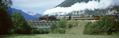 Train, Bohinjska Bistrica, Slovenia