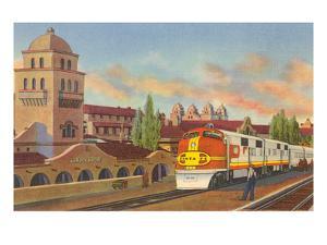 Train Depot, Albuquerque, New Mexico