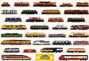 Train Modern Locomotives
