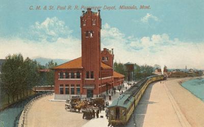 Train Station, Missoula, Montana